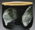 black and white cup detail